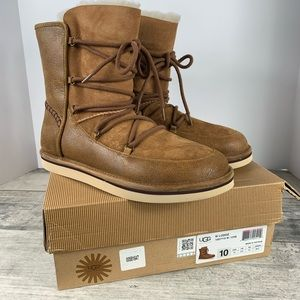 BRAND NEW UGG Lodge Boots Chestnut Size 10 uggs